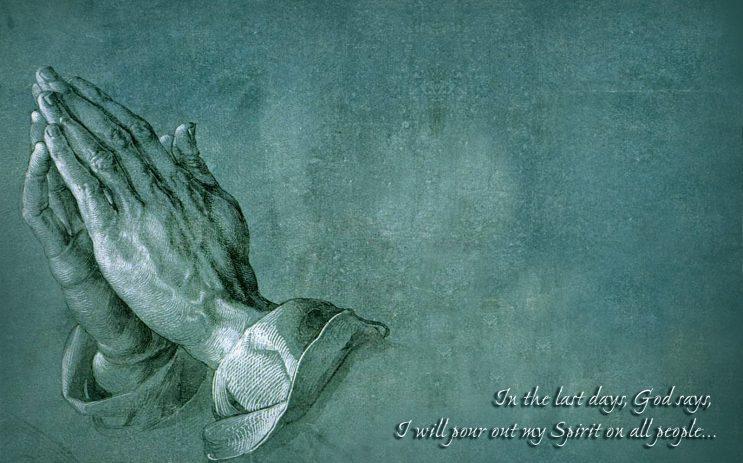 A hand of prayer